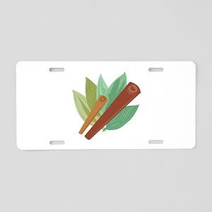 Cinnamon_Base Aluminum License Plate