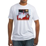 Three Wise Amigos Fitted T-Shirt