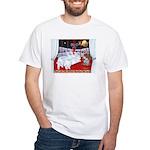 Three Wise Amigos White T-Shirt
