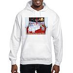Three Wise Amigos Hooded Sweatshirt