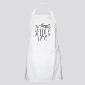 Crazy Spider lady Apron