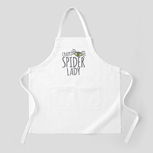 Crazy Spider lady Apron