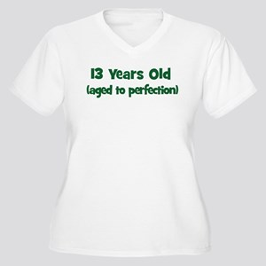 13 Years Old (perfection) Women's Plus Size V-Neck