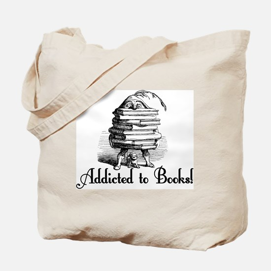 Addicted to Books! Tote Bag