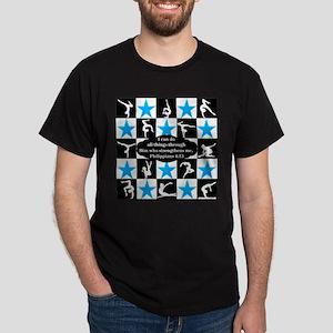 GYMNASTICS QUEEN Dark T-Shirt