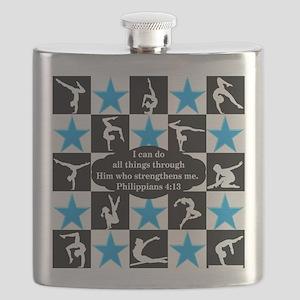 GYMNASTICS QUEEN Flask