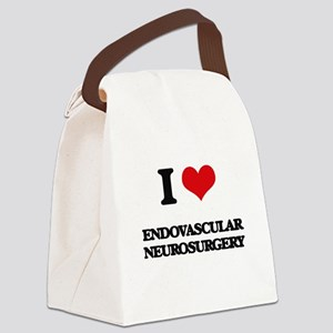 I Love Endovascular Neurosurgery Canvas Lunch Bag