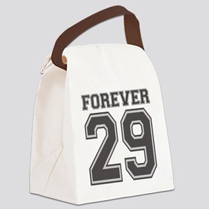 Forever 29 Canvas Lunch Bag