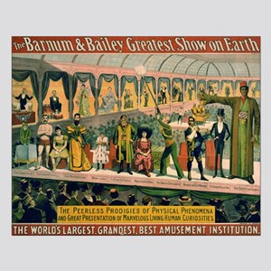 BARNUM AND BAILEY FREAK SHOW poster 16x20