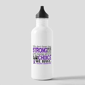 Epilepsy HowStrongWeAr Stainless Water Bottle 1.0L