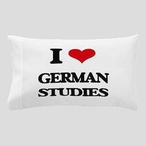 I Love German Studies Pillow Case