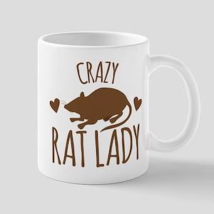 Crazy Rat Lady Mugs