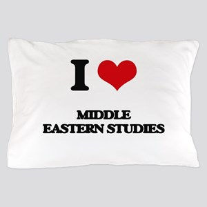 I Love Middle Eastern Studies Pillow Case