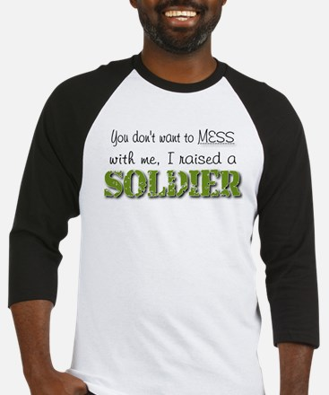 I raised a Soldier (green) Baseball Jersey