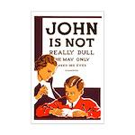 DULL JOHN poster 11x17