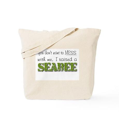 I raised a Seabee (green) Tote Bag