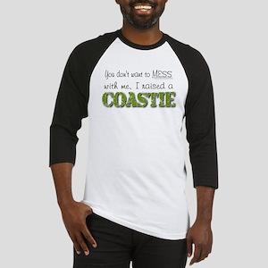 I raised a Coastie (green) Baseball Jersey