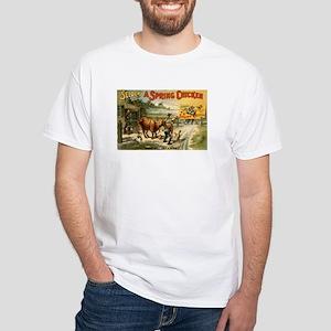 SPRING CHICKEN white t-shirt