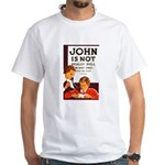 DULL JOHN white t-shirt
