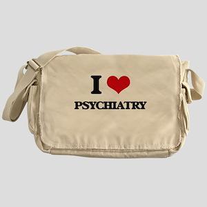 I Love Psychiatry Messenger Bag