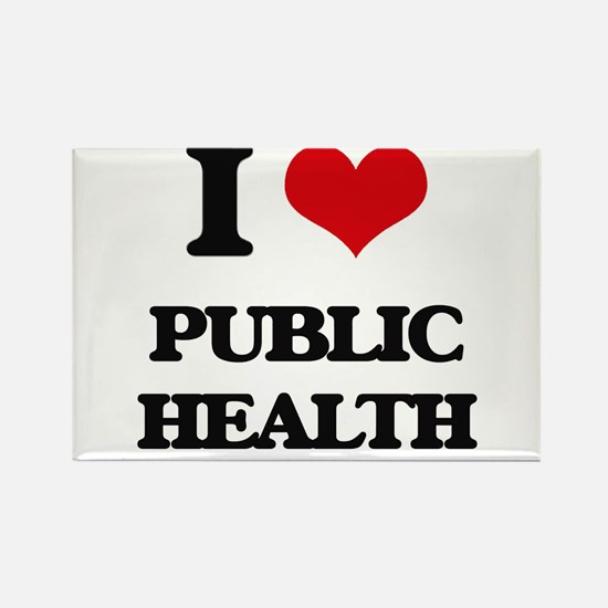 I Love Public Health Magnets