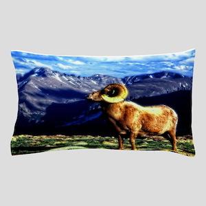 Full Curl Bighorn Pillow Case