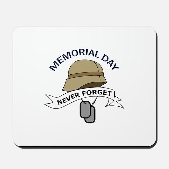 MEMORIAL DAY Mousepad