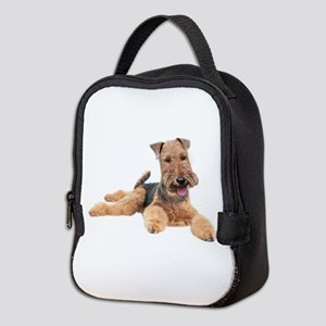 Welsh Terrier Portrait Neoprene Lunch Bag