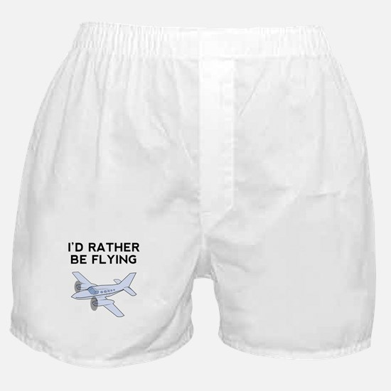 Id Rather Be Flying Boxer Shorts