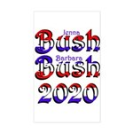 Bush Bush 2020 - Rectangle Sticker