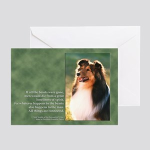 """""""All Things"""" Note Cards (Pk of 10)"""