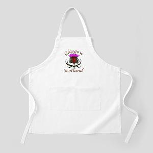 Glasgow Scotland thistle Apron