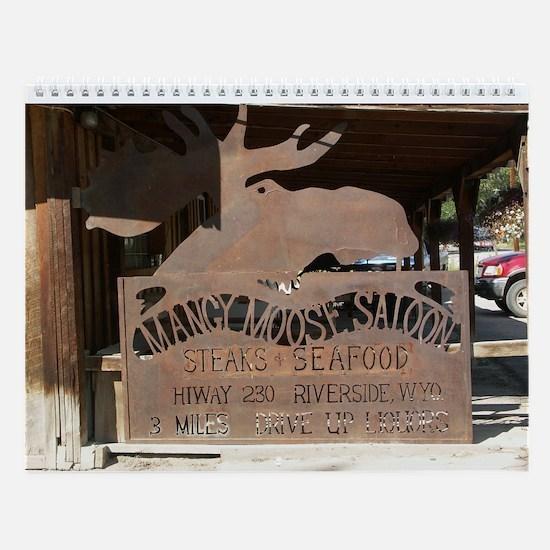 Wyoming Wall Calendar