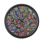 PS-Spokes 1 Large Wall Clock