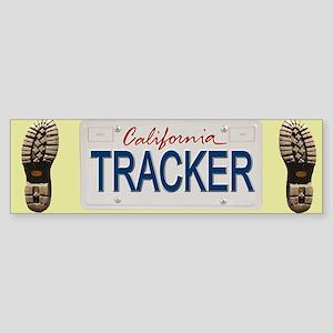 California Tracker Bumper Sticker