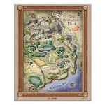 "Shamutanti Hills Map 16"" Print Small Poster"