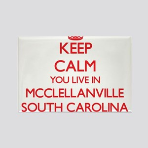 Keep calm you live in Mcclellanville South Magnets