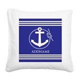 Boat Square Canvas Pillows