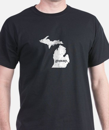 Grammy Michigan Grandmother T-Shirt