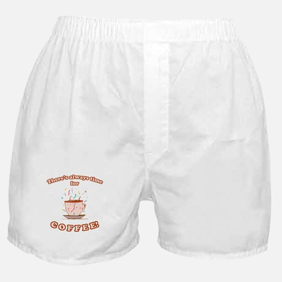 Coffee Time Boxer Shorts