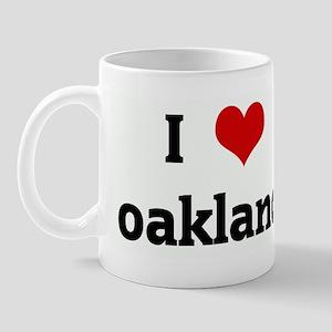 I Love oakland Mug