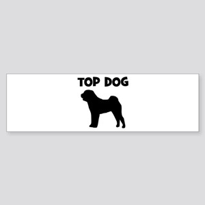 Chinese Shar Pei - top dog Bumper Sticker