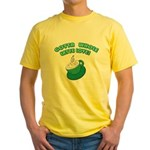 All Template Yellow T-Shirt
