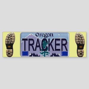 Oregon Tracker Bumper Sticker