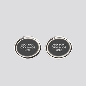 Add Your Own Image Oval Cufflinks
