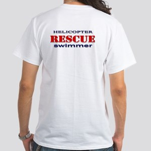 Coast Guard Helicopter WING D White T-Shirt