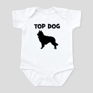 Belgian Tervuren - top dog Infant Bodysuit