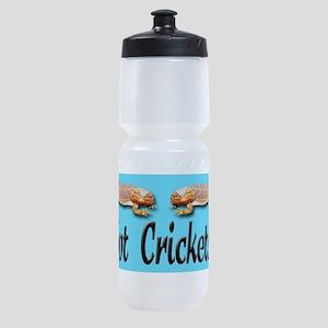 BD Got Crickets blue background Sports Bottle