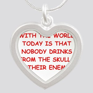 skulls of enemies Necklaces