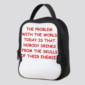 skulls of enemies Neoprene Lunch Bag